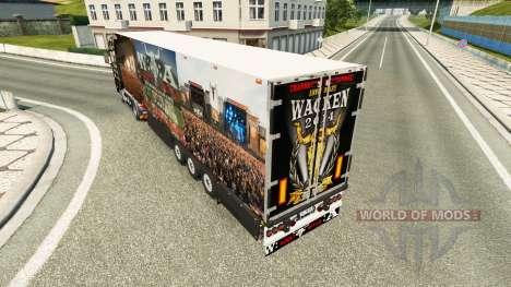 Semi-Remolque Schmitz Cargobull 25 Años De Wacke para Euro Truck Simulator 2