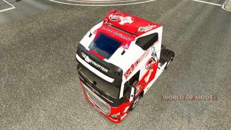 La piel de 1. FC Koln en Volvo trucks para Euro Truck Simulator 2