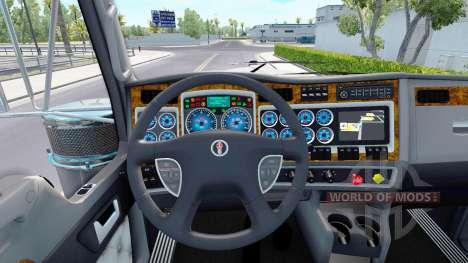 El color azul de los dispositivos tienen un Kenw para American Truck Simulator