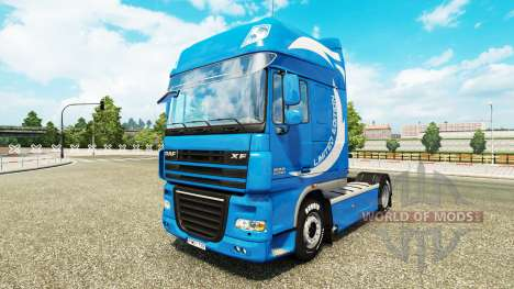 Edición limitada de la piel para DAF camión para Euro Truck Simulator 2