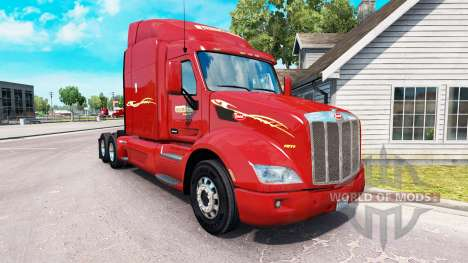La piel Prime inc. el tractor Peterbilt para American Truck Simulator