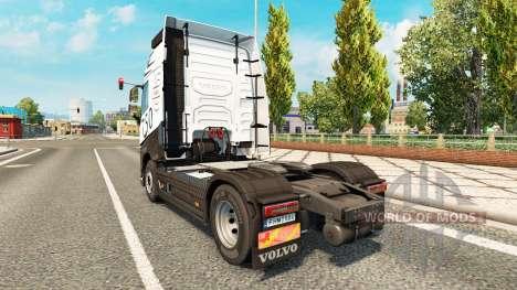 Carbonne, MIDI-pyrénées piel para camiones Volvo para Euro Truck Simulator 2