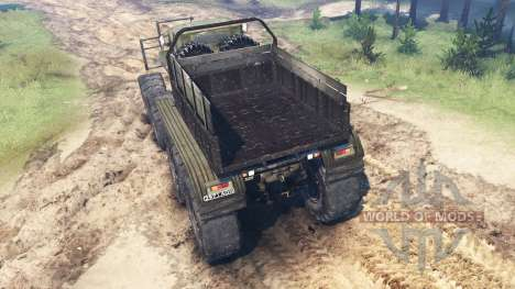 Ural B para Spin Tires