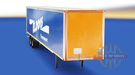 La piel Elddis de Transporte en semi-remolque para American Truck Simulator