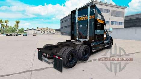 La piel de La División de la Kenworth truck para American Truck Simulator