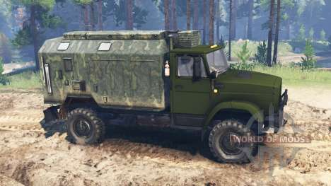 ZIL-4327 [militar] para Spin Tires