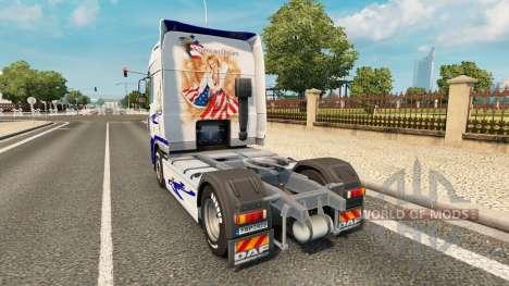 El Sueño americano de la piel para DAF camión para Euro Truck Simulator 2