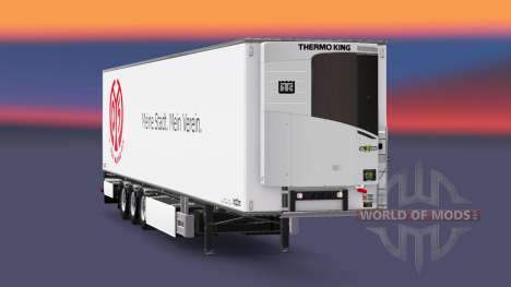 Semi-Remolque Chereau 1. FSV Mainz 05 para Euro Truck Simulator 2