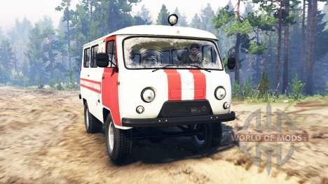UAZ-39629 para Spin Tires
