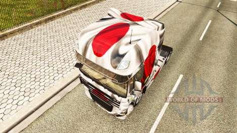 La piel Japao Copa 2014 para DAF camión para Euro Truck Simulator 2