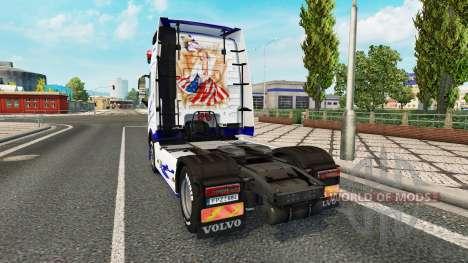 El Sueño americano de la piel para camiones Volv para Euro Truck Simulator 2