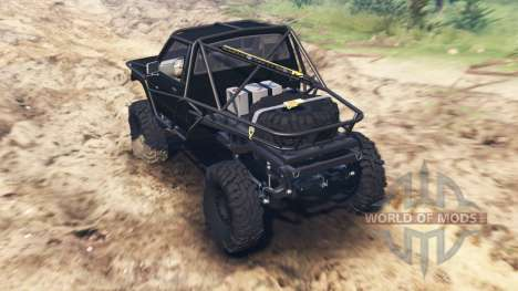 Toyota Hilux Truggy 1984 para Spin Tires