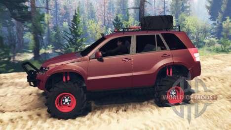 Suzuki Grand Vitara 2007 v2.0 para Spin Tires