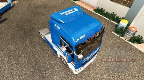 La piel THW tractor HOMBRE para Euro Truck Simulator 2