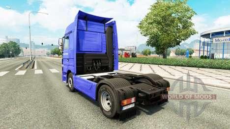 Skin Dachser Karlsruhe for tractor Mercedes-Benz para Euro Truck Simulator 2