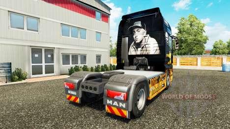 Eminem piel para HOMBRE camión para Euro Truck Simulator 2