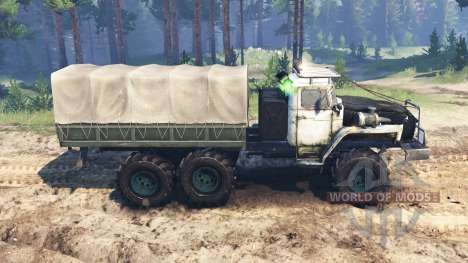 Ural-4320-10 URSS para Spin Tires