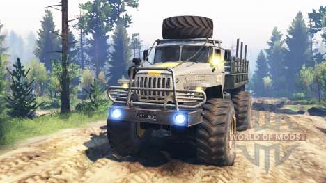 Ural-43206 [el huracán] v2.0 para Spin Tires