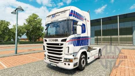 La piel M-Trex tractor Scania para Euro Truck Simulator 2