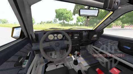 Lancia Delta (831) HF Integrale Evo II para BeamNG Drive