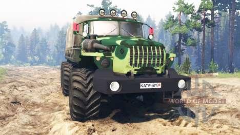 Ural-4320-31 para Spin Tires