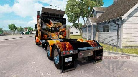 Pieles de Big Bang en el camión Peterbilt 389 para American Truck Simulator