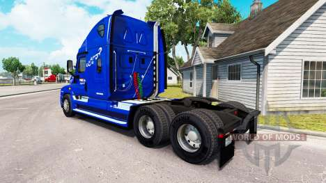 La Piel Prime Inc. en el tractor Freightliner Ca para American Truck Simulator
