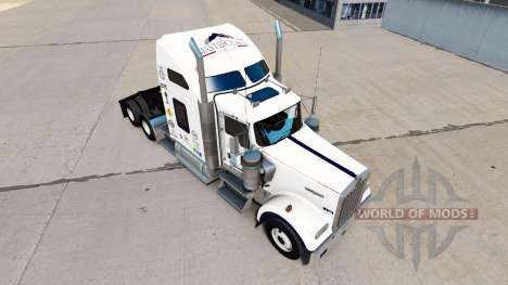 La piel Mastercraft Gabinetes en el camión Kenwo para American Truck Simulator