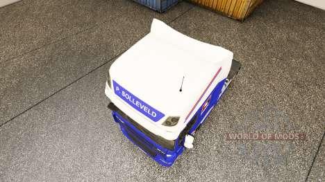 El P. Solleveld de Transporte de la piel para DA para Euro Truck Simulator 2