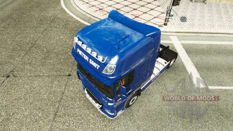 Pieter Smit piel para DAF XF 105.510 tractor para Euro Truck Simulator 2