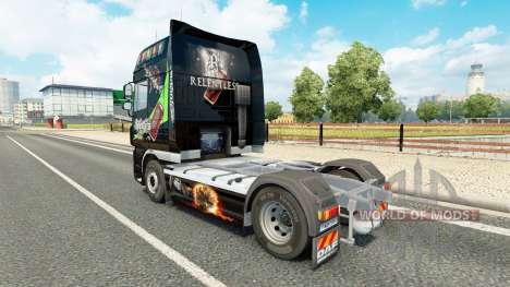 Implacable de la piel para DAF camión para Euro Truck Simulator 2