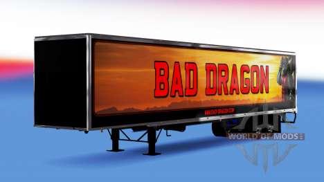 De metal semi-Bad Dragon para American Truck Simulator