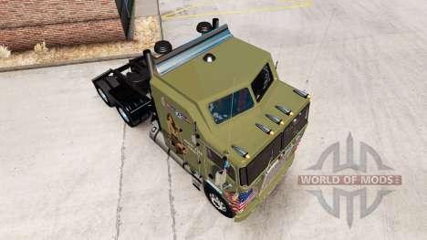 La piel Militares de las Niñas en el tractor Ken para American Truck Simulator