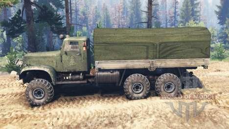KrAZ-214 v2.0 para Spin Tires