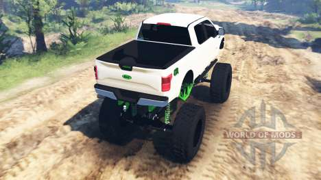 Ford F-150 [zombie edition] v2.0 para Spin Tires
