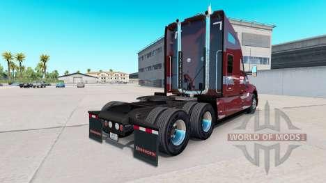 La Piel Millis Transferencia Inc. en el camión K para American Truck Simulator