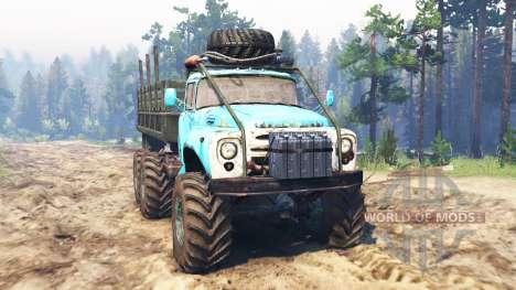 ZIL-165 [monstruo del pantano] para Spin Tires