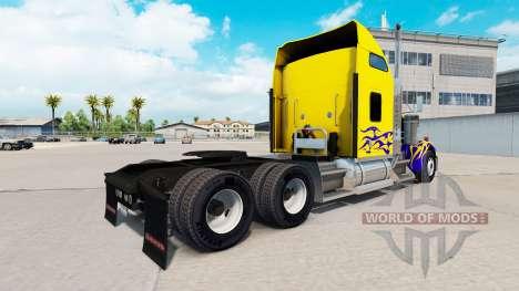 La piel en Nevada Personalizado camión Kenworth  para American Truck Simulator