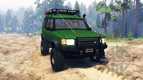 Land Rover Discovery v2.0 para Spin Tires