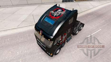 La piel Reelabora el Cráneo en el camión Freight para American Truck Simulator