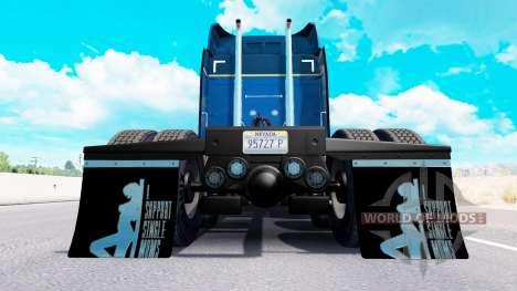 Guardabarros yo Apoyo a Madres Solteras v1.6 para American Truck Simulator