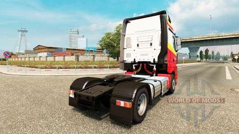 Simon Loos de la piel para el camión Mercedes-Be para Euro Truck Simulator 2