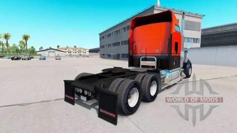 Flash de la piel Personalizado camión Kenworth W para American Truck Simulator