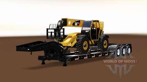 Una colección de los remolques de carga para American Truck Simulator