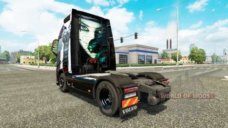 Valentina piel para camiones Volvo para Euro Truck Simulator 2