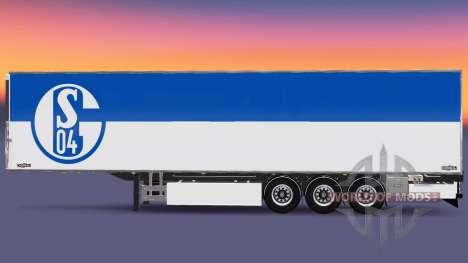Semirremolque Chereau FC Schalke 04 para Euro Truck Simulator 2