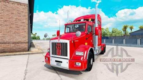 Kenworth T800 v1.2 para American Truck Simulator