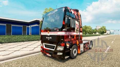 Apoyo 81 de la piel para el HOMBRE camión para Euro Truck Simulator 2