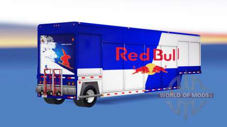 Semi-remolque para el transporte de bebidas para American Truck Simulator