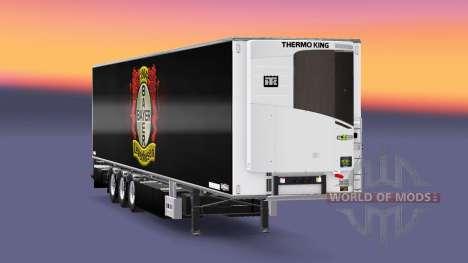 Semi Remolque De La Empresa Bayer 04 Leverkusen para Euro Truck Simulator 2